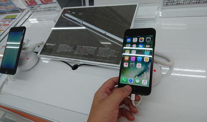 iphone7実機