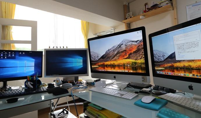 MacやWindowsを一つのマウスで操作可能にするSynergy